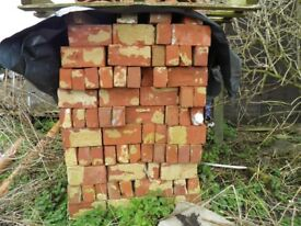Old Norfolk Red Bricks Approx 550