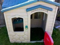 Little tiked playhouse