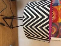 Betty Jackson @ Debenhams Chevron Table Lamp