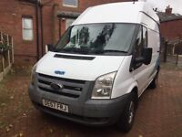 2007 57 ford transit mwb high roof selling as spares none runner, 3 month mot,