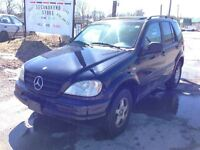 1999 Mercedes-Benz M-Class CALL 519 485 6050 SAFETIED AND E TEST