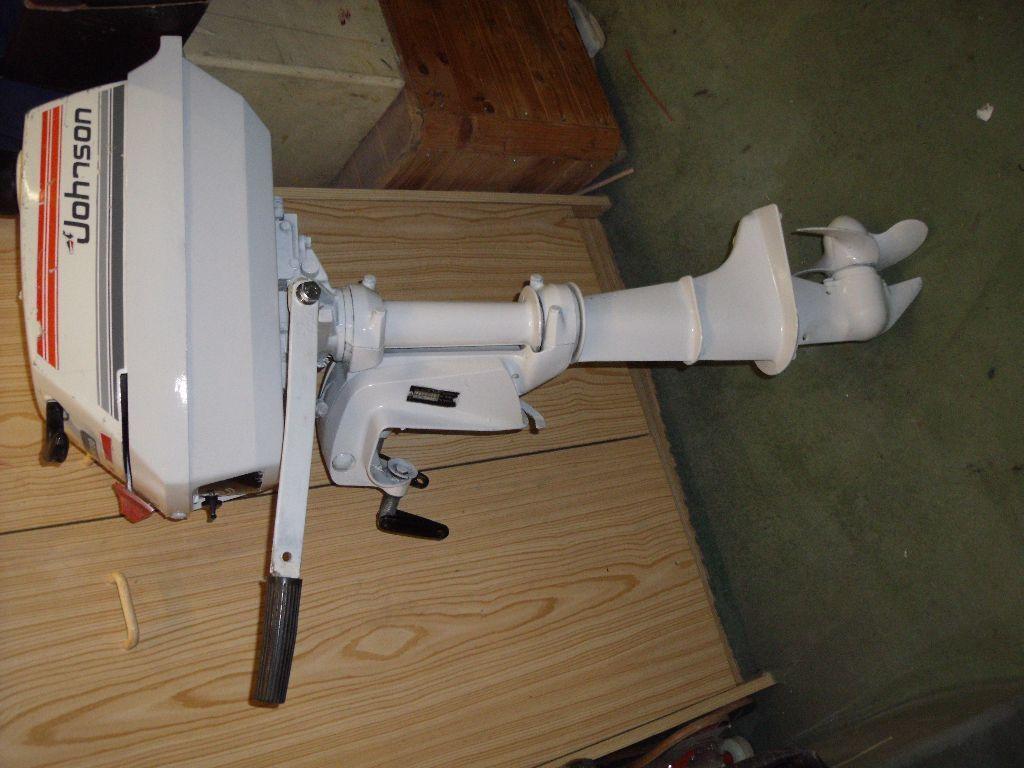 Outboard boat dinghy engine 4hp 2 stroke twin cylinder for Evinrude outboard jet motors for sale
