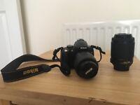 Nikon D5000 DSLR + multiple accsssories!