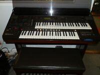 Yamaha EL40 Electronic Organ