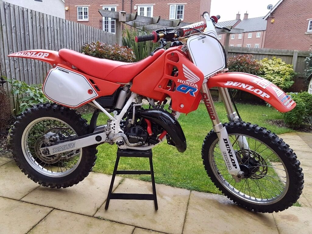 honda cr 125 1990 super evo in leicester leicestershire. Black Bedroom Furniture Sets. Home Design Ideas