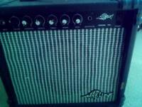 Marlin 10L guitar amplifier, working well, overdrive, master controls