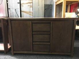 New/Ex Display Harvey's Claremount Dark Oak Sideboard