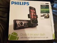 Phillips radio and charging dock