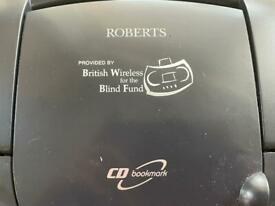 Radio for partially sighted