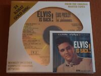 ELVIS IS BACK NEW SEALED 24 KARAT GOLD