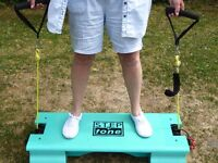 Step n Tone Stepper with resistance bands