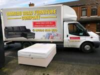 4ft6 split divan base (with drawers) and memory foam mattress