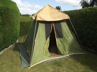 AMERICAN CAMEL CANVAS TENT - Retro 70's / Camping / Play tent