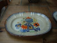 Collectable Mason's Handpainted Ironstone China Oval Platter