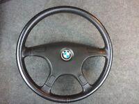 Bmw e34 steering wheel non airbag model
