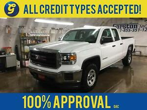 2014 GMC Sierra 1500 DOUBLE CAB*4WD*5.3L V8*SPRAY IN BED LINER*H