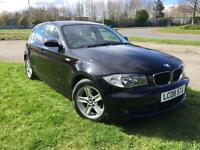 2008 BMW 118d (£30 a year road tax)