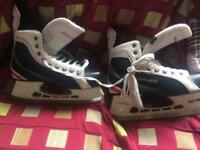 Bauer ice skates uk size 9.5