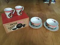 Portmeirion Vintage Kellogg's 6 piece breakfast set