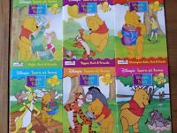 Set of 6 Disney Learn at Home books for 2-5 year olds (£10)