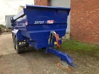 JPM agricultural dump trailer 20T