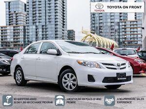 2012 Toyota Corolla CE/ TOYOTA CERTIFIED/ LOW MILEAGE