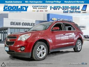 2012 Chevrolet Equinox LT/ONE OWNER/CLAIMS FREE/LOCAL TRADE