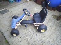child pedal go-cart