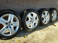 "WINTER TYRES 205/55 R16 - Full set on 16"" wheels for Vauxhall Astra H. All very good condition."