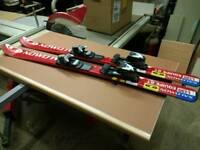 Salomon 130cms kids skis