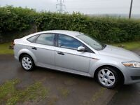 lovely ford mondeo tdci diesel 08 plate stardust silver alloys with nearly new tyres