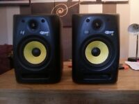 KRK rokit 6 studio monitors G2