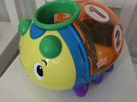Bright starts Having a ball count and roll buggie