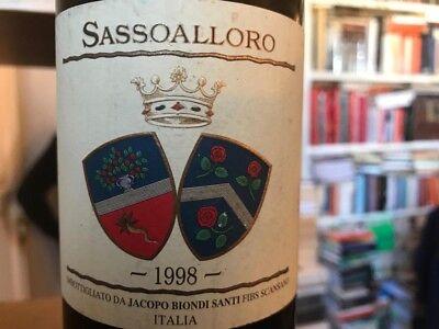 Sassoalloro 1998  Jacopo Biondi Santi