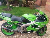 Kawasaki ZX636R A1P ZX6R Green, Well looked after low mileage