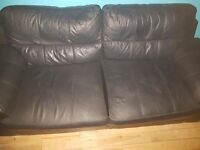 Giving a brown leathef 2 seater away