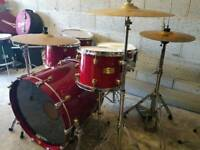 Mapex Orion Drum Kit inc Hardware & Cymbals