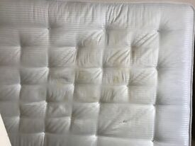 Double orthopedic mattress,