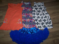 Bundle of clothes for girl, size 6-7