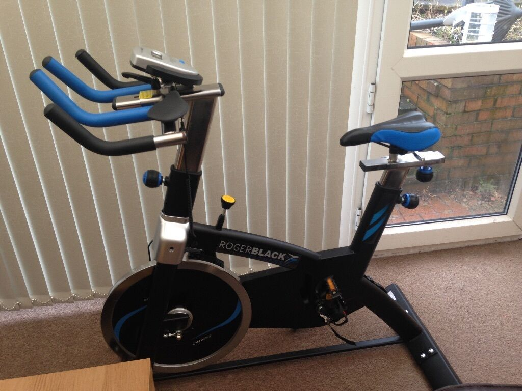 Roger black spinning bike in newcastle under lyme