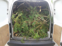 Local garden rubbish removal & green waste clearance we load and go and tidy it all for you