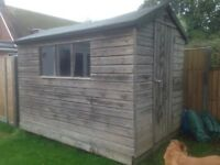 Wooden Shed 9' x 6'