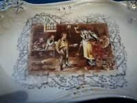 Lancasters Ltd Staffordshire porcelain plate