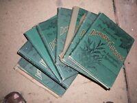 Antique gardening books