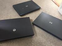 3x HP laptops - faulty