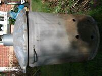 Galvanized Steel Waste Incinerator - Garden Furniture