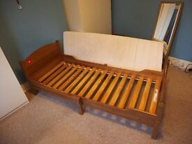 Solid Wood Variable Length Bed