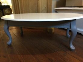 French Vintage Shabby Chic Coffee Table / Can Deliver