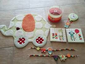 Mamas and papas nursery/child's bedroom accessories