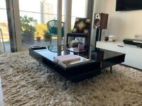 IKEA coffee table - high gloss black